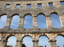 Pula Amphitheatre Stockbilder