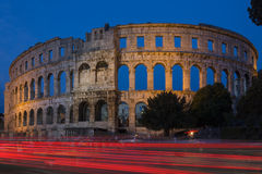 Pula Amphitheatre - Croatia Stock Photography