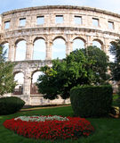 Pula Amphitheatre Stock Photo