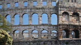 Pula amphitheatre Stock Image