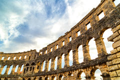 Pula Arena Stock Photo