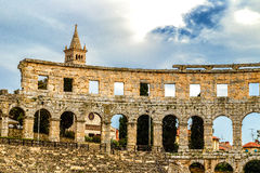 Pula Arena Royalty Free Stock Photography