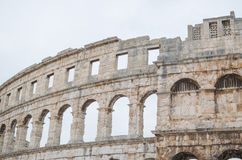 Pula Arena Closeup Royalty Free Stock Photos