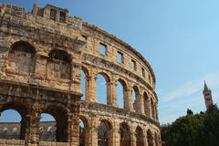 Pula Arena, Croatia Royalty Free Stock Photography