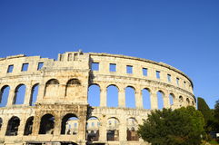 Pula arena in Croatia Royalty Free Stock Images