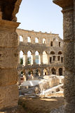 The Pula Arena - Croatia Royalty Free Stock Images