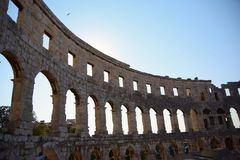 Pula Arena Royalty Free Stock Images