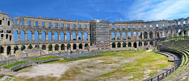 Pula Arena in Croatia Royalty Free Stock Image
