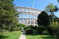 Pula Croatia Stock Photos