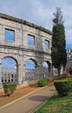 Pula in Croatia Royalty Free Stock Photo