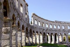 Pula, Croatia foto de stock royalty free