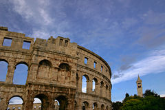 Pula, Croatie Photo stock