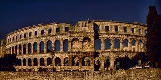 Pula da arena Imagem de Stock