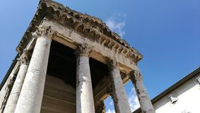 PULA di Augustus Temple Fotografie Stock