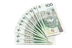 Pula el dinero Imágenes de archivo libres de regalías