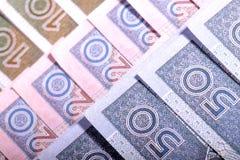 Pula el dinero en circulación Foto de archivo libre de regalías