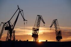Pula haven stock afbeelding