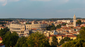 Pula, Istria, Kroatië Royalty-vrije Stock Foto