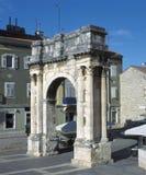 Pula, Kroatien lizenzfreie stockfotos