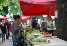 Pula Market Royalty Free Stock Images
