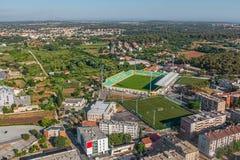 Pula stadion Arkivfoto