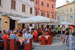 Pula street view Royalty Free Stock Images