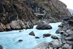 Pulando Tiger Canyon Foto de Stock Royalty Free