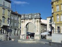 Pulas, Croatia Fotografía de archivo