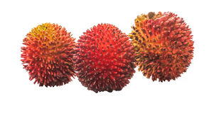 Pulasan Fruit or Nephelium mutabile III Royalty Free Stock Photos