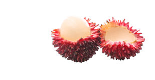 Pulasan Fruit or Nephelium Mutabile VII Stock Photo