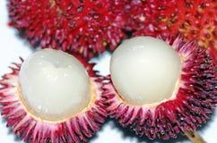 Pulasan fruits Stock Image