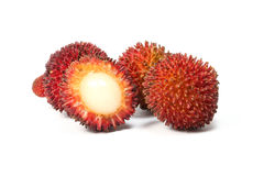 Pulasan Spikey Unique Fruit Royalty Free Stock Image