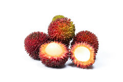 Pulasan Spikey Unique Fruit Royalty Free Stock Photo