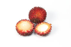 Pulasan Spikey Unique Fruit Royalty Free Stock Photos