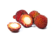 Pulasan Spikey Unique Fruit Royalty Free Stock Photography