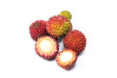 Pulasan Spikey Unique Fruit Stock Photo