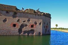 pulaski форта стоковые фото