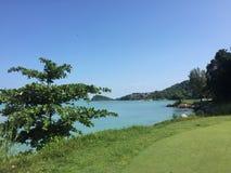 Pulau Besar meeres- Melaka stockbild