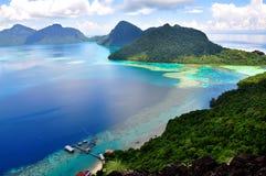 Pulau Bohey Dulang, Sabah Στοκ Εικόνες
