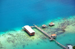 Pulau Bohey Dulang, Sabah Stockbild