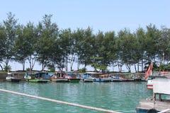 Pulau Pari, Indonesien stockfotografie