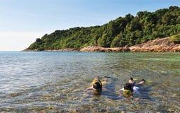 Pulau Perhentian Besar royalty-vrije stock afbeeldingen