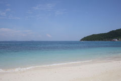 Pulau Perhentian, Malaysia 05. Turquoise blue waters and white coral strewn sands make Pulau Perhentian a tropical paradise Royalty Free Stock Photos