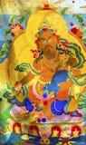 Pulce buddista Marke di Panjuan della decorazione del Tanka di Dio della replica cinese Fotografia Stock Libera da Diritti