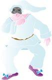 pulcinella маски Стоковое Изображение