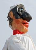 Pulcinella. Famous character of italian comedia dell arte Stock Images