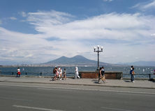 Pulcinella em Nápoles Imagem de Stock
