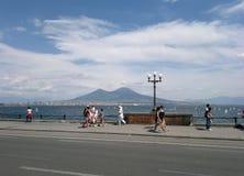 Pulcinella w Naples Obraz Stock
