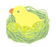 Pulcino di Pasqua Immagine Stock
