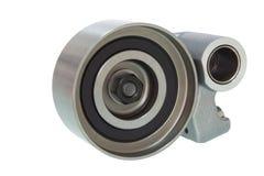 Pulegge isolate componenti del motore per la V-cinghia Fotografia Stock Libera da Diritti
